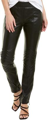 Zadig & Voltaire Pider Leather Biker Pant