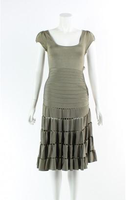 Zac Posen Gold Viscose Dresses