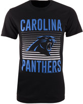 Junk Food Clothing Men's Carolina Panthers Block Shutter T-Shirt