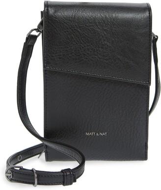 Matt & Nat Met Vegan Leather Crossbody Wallet