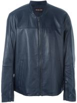 Michael Kors zipped jacket - men - Sheep Skin/Shearling/Polyester/Viscose - S