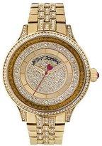 Betsey Johnson Women's BJ00412-02 Analog Display Quartz Gold Watch