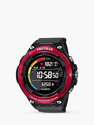 Casio Unisex ProTrek Smart 21 Bluetooth GPS Touch Screen Resin Strap Watch
