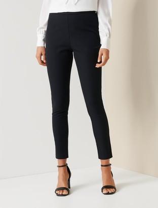 Ever New Dana High-Waist Cotton-Blend Power Stretch Pants