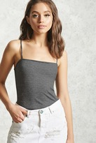 Forever 21 FOREVER 21+ Striped Cropped Cami