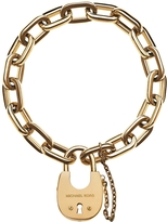 Michael Kors Chains & Elements Golden Link Bracelet