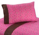 JoJo Designs Sweet Cowgirl Bandana Print Queen Sheet Set in Pink