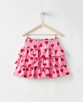 Girls Three Tiers Scooter Skirt