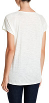 Madewell Choral Solid Split Neck Tee