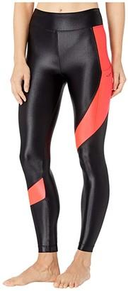 Koral Pista Infinity High-Rise Leggings (Black/Guava) Women's Casual Pants