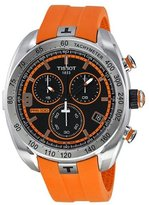 Tissot Men's T0764171705701 PRS 330 Analog Display Swiss Quartz Orange Watch