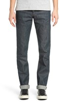 Naked & Famous Denim Weird Guy Slim Fit Jeans (Rusted Blue Selvedge)