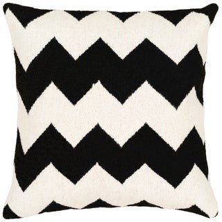 Overstock Ariston Modern 20-inch Poly or Feather Down Filled Throw Pillow