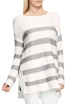 Vince Camuto Stripe Textured Sweater