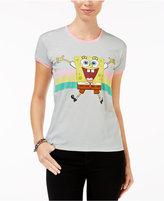 Mighty Fine Juniors' Spongebob Graphic T-Shirt
