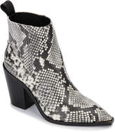 Kenneth Cole West Side Snake-Embossed Booties