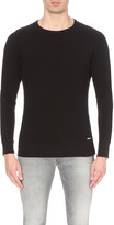 Diesel S-willard cotton-jersey sweatshirt