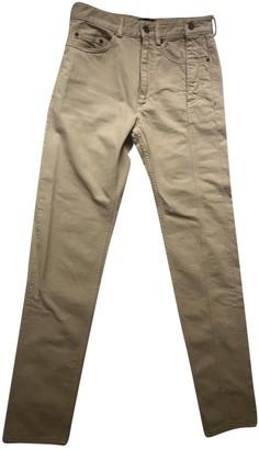 Y/Project Beige Cotton Jeans for Women
