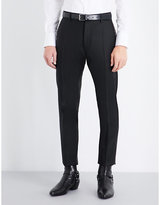 Dsquared2 Admiral Regular-fit Embellished Wool And Silk-blend Trousers