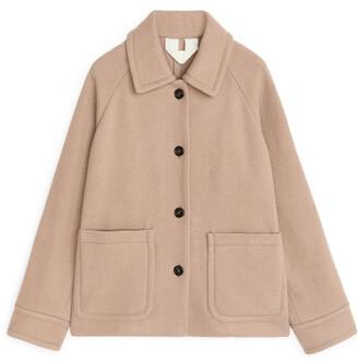 Arket Overshirt-Style Wool Jacket