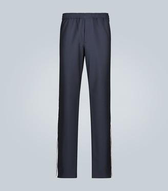 Valentino Elasticated casual pants