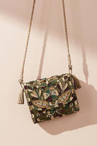 Anthropologie Dolly Embroidered Crossbody Bag