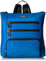 Calvin Klein Athliesure Nylon Square Multi Zip Backpack
