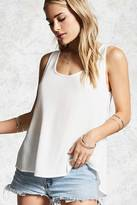 Forever 21 Gauze Vented Top