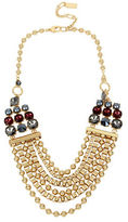 Kenneth Cole New York Mixed Faceted Stone Multi-Row Necklace