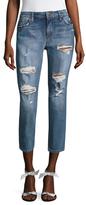 Joe's Jeans The Billie Denim Distressed Cropped Jean