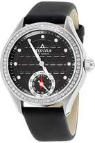 Alpina Horological Smartwatch AL285BTD3CD6 Stainless Steel & Leather Quartz 39mm Womens Watch