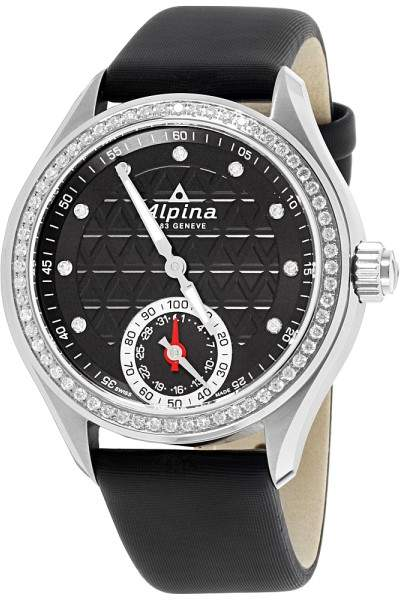 Alpina Horological Smartwatch AL285BTD3CD6 Stainless Steel & Leather Quartz 39mm Womens Watch