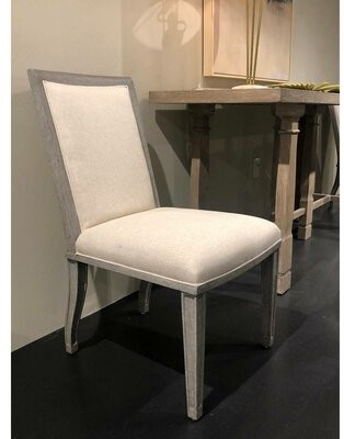 Stanley Furniture Willow Upholstered Side Chair Upholstery Color: Pewter