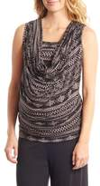 Everly Grey Women's 'Carla' Drape Maternity Top