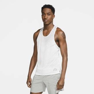 Nike Men's Running Tank Run Division Adapt