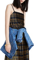 Madewell Pleated Velvet Cami Top