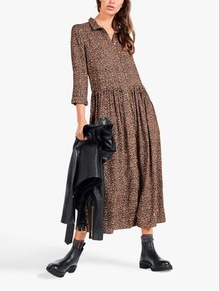 Hush Lianne Midi Shirt Dress, Multi