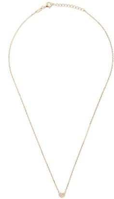 As 29 18kt yellow gold Miami Heart diamond necklace