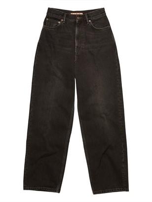 Acne Studios Cropped 1993 Vintage Jeans, Black