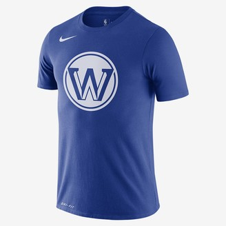 Nike Men's Dri-FIT NBA T-Shirt Warriors City Edition Logo