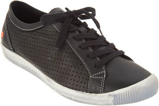 Fly London Softinos by Leather Lace Up Sneakers - Ica