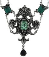 Alchemy Gothic Queen of the Night Pendant w/ Necklace