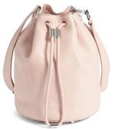 Alexander Wang Alpha Leather Bucket Bag - Pink