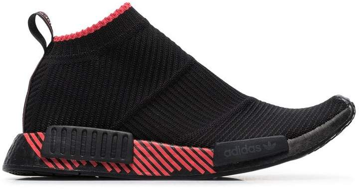 new product d8e64 e5c77 black NMD Racer sneakers