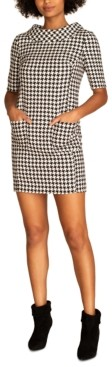 Trina Turk Maleko Houndstooth Dress