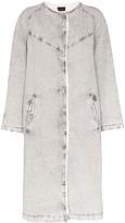 Isabel Marant Kaleia oversized denim coat