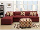 Andover Mills Corporate Reversible Chaise Sectional