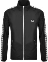 Fred Perry Taped Sports Jacket Black