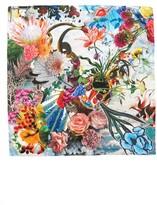 Christian Lacroix Women's Flower Utopia Silk Square Scarf