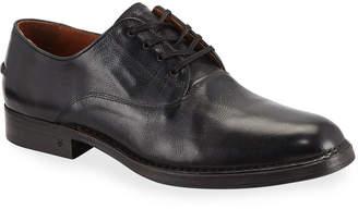 John Varvatos Men's Moccasin Leather Derby Shoes
